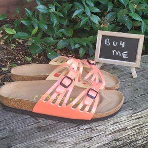 Birkenstock Granada 2 Strap Sandal Patent Size 7